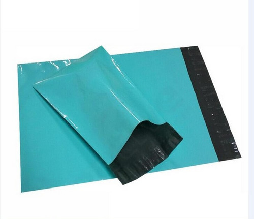 Retail 50Pcs/Lot Green Self Adhesive Shipping Packaging Bag Courrier Packing Bags Plastic Postage Mailing Mailer Package Bags