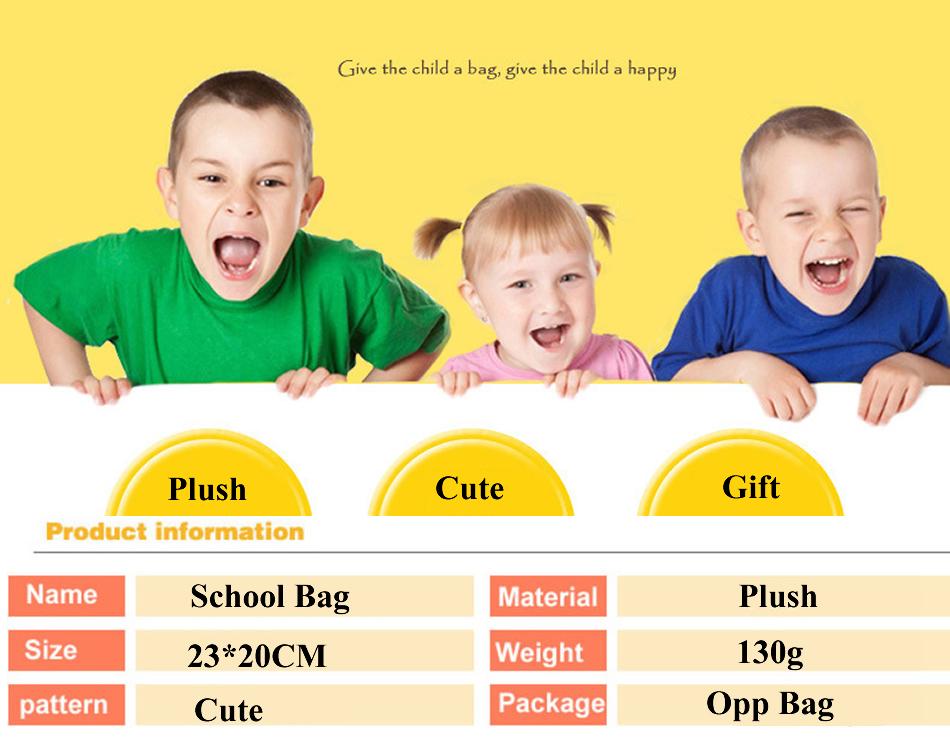 School bag School Bag Totoro, Picacho and Doraemon School Bags HTB1k