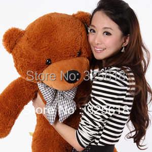 Бесплатная доставка, плюшевые игрушки size80cm/teddy bear 0,8 m/большой объятия медведя кукла/любителей/подарок на день Святого Валентина, подарок на день рождения