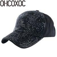 Ohcoxoc women البيسبول كاب قبعة مصمم مخصص أزياء الربيع الصيف الخريف امرأة فتاة الفاخرة قبعة بيسبول بالجملة