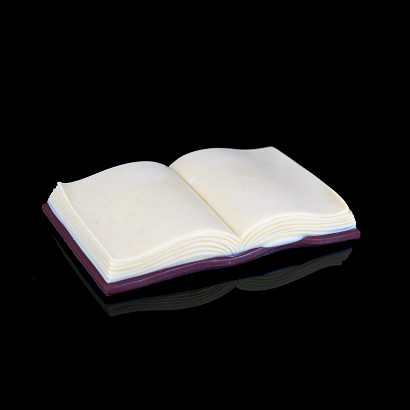 Nicole 3D Silicone Mold Fondant Cake Decorating Tools Pen And Book Shape Handmade Soap Chocolate Candy Making Mould