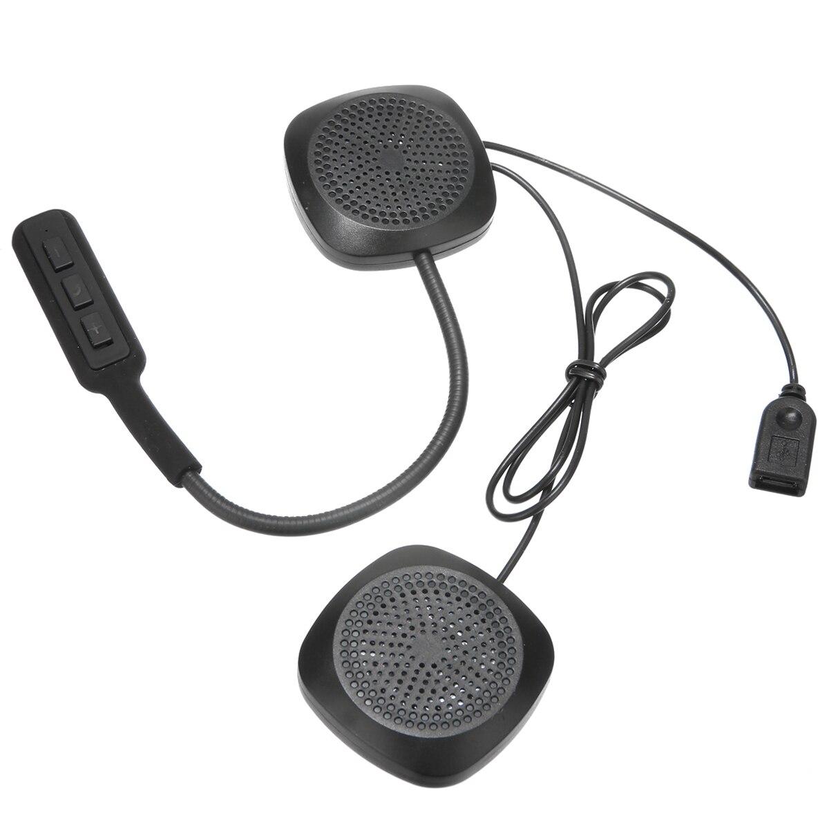 Universal 1set DC5V Motorbike Bluetooth Headset Motorcycle Helmet Hands Free Headphones For Music GPS Car Styling Tool