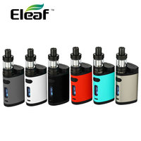 Original 200W Eleaf Pico Dual TC Vape Kit With 2ml MELO 3 Mini Atomizer Tank 0