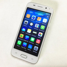Free Case Original 4.5inch IPS Android 4.4 Smartphone MT6580 Quad Core cell phone 3G mobile phone H-mobile