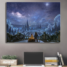 Beauty And The Beast By Karl Simon Wall Art Canvas Poster And Print Canvas Painting Decorative Picture Modern Bedroom Home Decor все цены