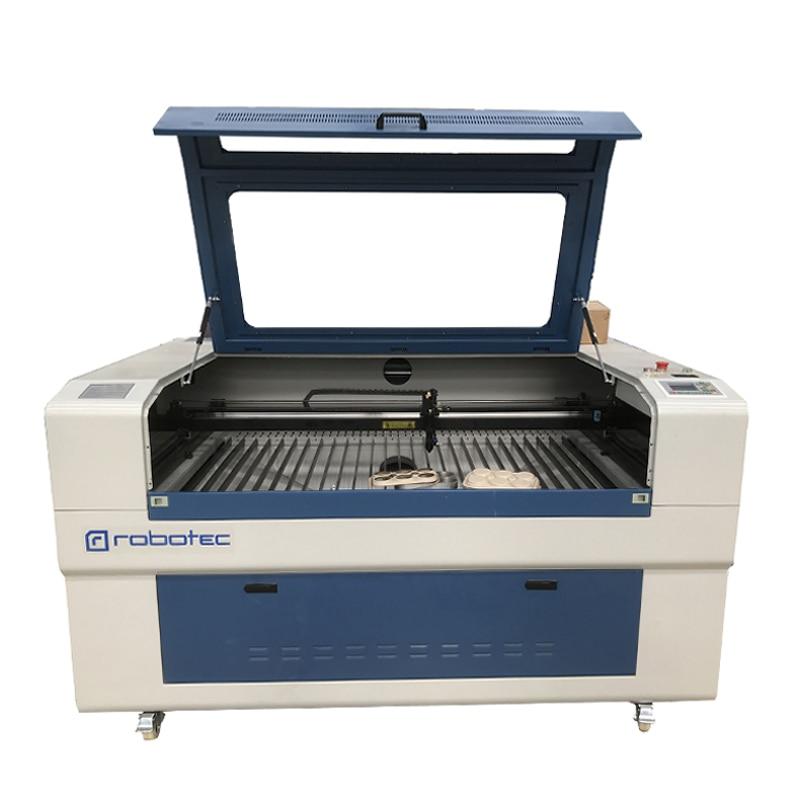 ROBOTEC CNC Laser Cutter Ruida Controller Wood CO2 Laser Engraver Price Metal MDF Acrylic Stone 1390 Laser Cutting Machine