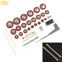 Flute Clarinet ALto Saxophone Wind Instrument Repair Kit with Screw Reed Needle Axle Musical Instrument Accessories