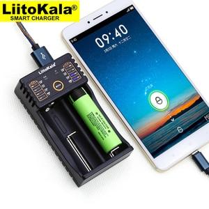 Image 1 - Liitokala Lii 202 batterij lader, opladen 18650 1.2 V 3.7 V 3.2 V AA/AAA 26650 10440 14500 16340 25500 NiMH lithium batterij