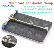 Woznak  For iPhoneA8 A9 chip/hard disk except the tape card slot double clamp repair synthetic stone/double increase