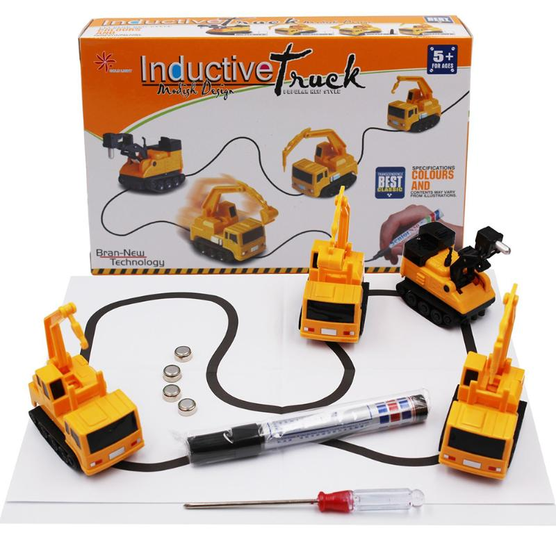 1Pcs ילדים מג 'יק משאית Chirldren מג' יק צעצוע - צעצוע כלי רכב
