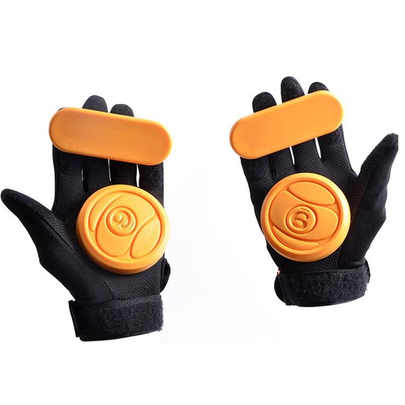 1pc Skateboard/Longboard Sliding FreeRide Gloves Replacement Palm Pucks