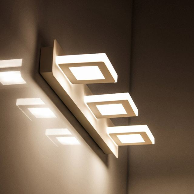 Online Shop Modern Acrylic LED Bathroom Wall Lamp Round Simple ...