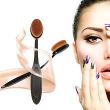 New Beauty Oval Makeup Tool Cosmetic Foundation BB Cream Powder Puff Powder Blush Makeup Brush Toothbrush