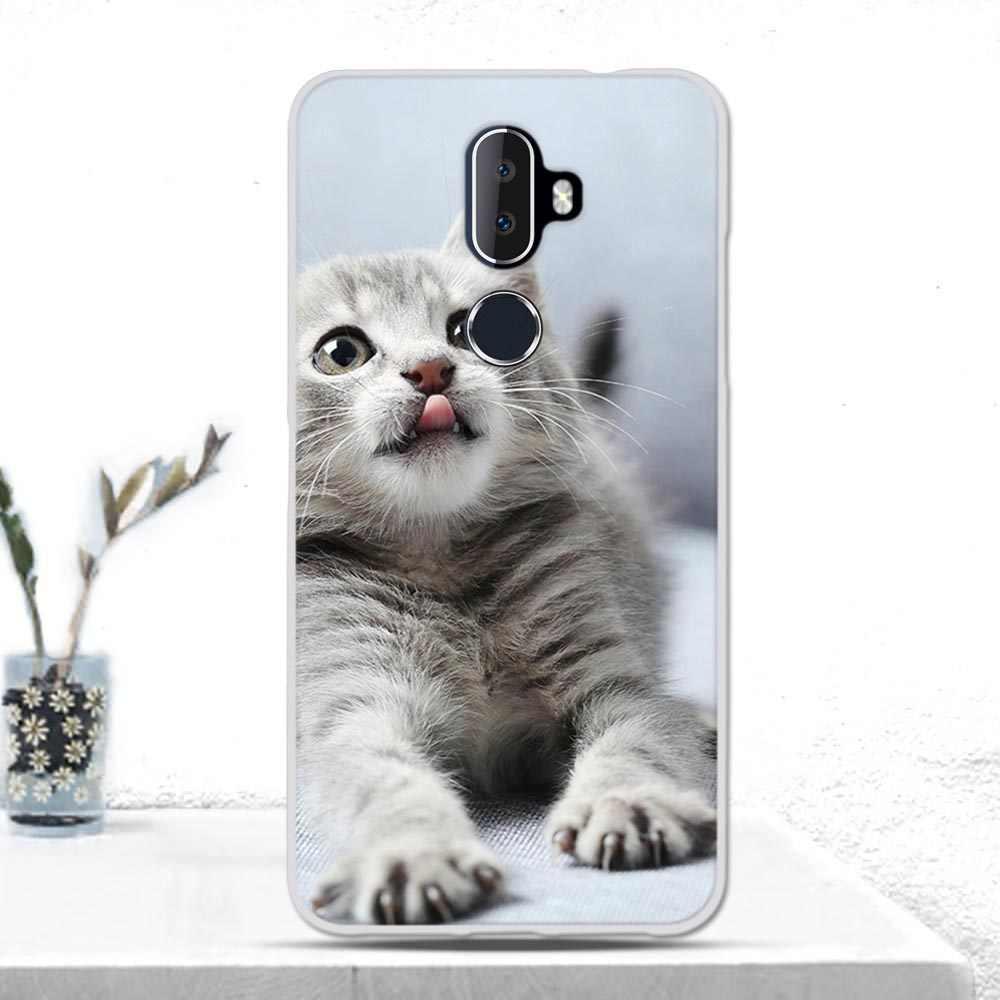 Caso para alcatel 3 v (2018) capa macia tpu silicone telefone capa tpu caso para alcatel 3 v 2018 caso coque pára-choques para alcatel 3 v 2018