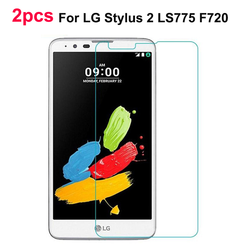 2pcs For Glass LG Stylus 2 Screen Protector Tempered Glass For LG Stylus 2 glass For LG Stylus 2 LS775 F720 Phone Film