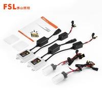 FSL 12V 45W H1 H3 H4 H7 H11 9005 H9 HID Xenon Lamp Kit Car Headlight
