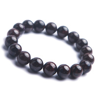 Genuine Natural Sugilite Round Crystal Beads Women Lady Jewelry Stretch Bracelet 12mm