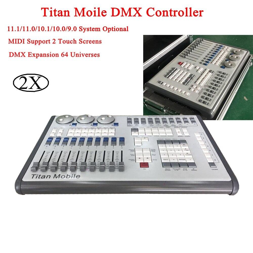 Professional светодиодный LED сценическое освещение Titan Mobile DMX control ler Perfect control диско вечерние бар DJ движущаяся головка сценический свет