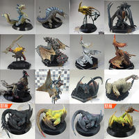 28 Super Hot Star Japan CAPCOM Dragons Monster Hunter Action Figures Ganototos Raoshanlon Dragons Animal Model Toys Gift
