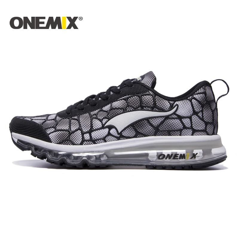 ONEMIX 2016 yastığı sneaker orijinal zapatos de evbre kişi idman - İdman ayaqqabıları - Fotoqrafiya 4