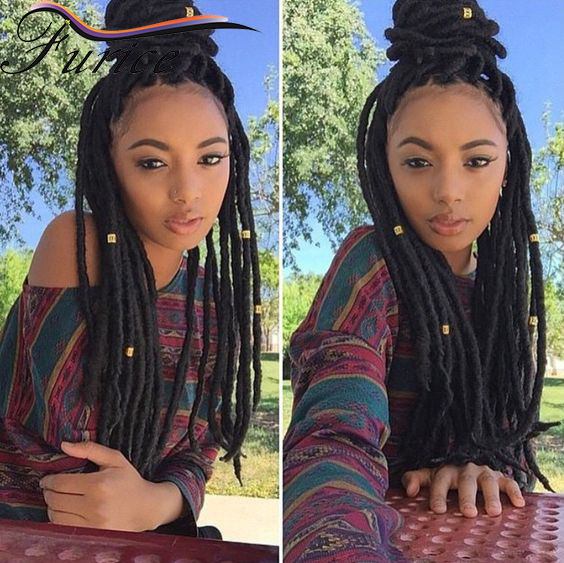 14 18 Inch Synthetic Dreadlocks Extensions Crochet Braids Hair