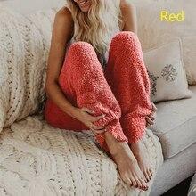 Новая женская зимняя мягкая плюшевая Фланелевая Пижама для сна, одноцветная длинная Пижама, зимняя плотная Пижама