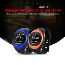 ZGPAX X83 Bluetooth Waterproof Smart Watch For Elder SOS GPS Tracking WIFI Smartwatch Anti Falling Alarm For IOS Android Phone