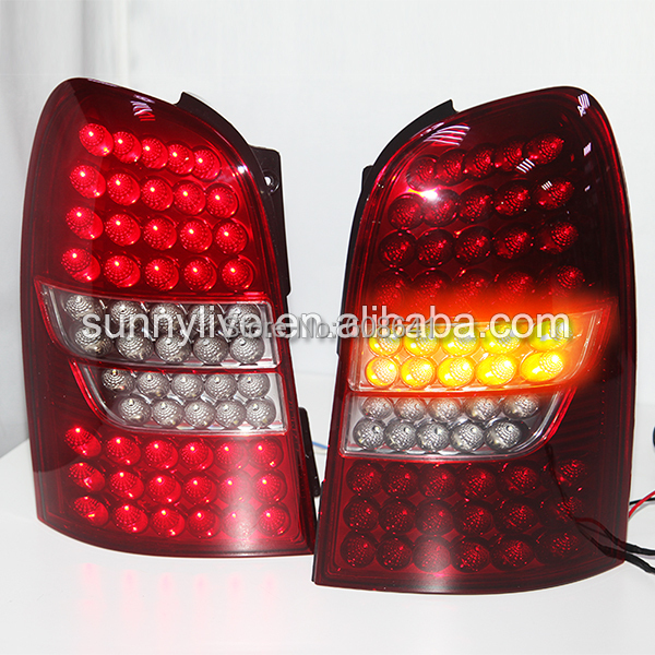 For SsangYong Rexton LED tail light 2006-2012  year ssangyong rexton с пробегом