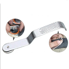 цена на Bike Tire Rasp Metal Bicycle Tyre Outdoor Repair Cleaning Tool Patch Accessories For Maintenance