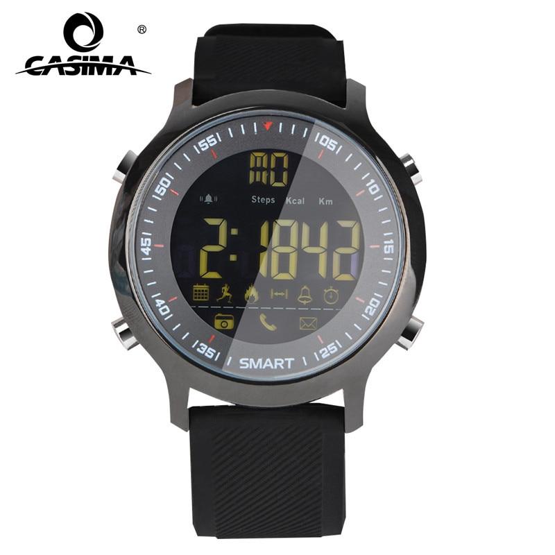 CASIMA Элитный бренд Для мужчин s спортивные часы Водонепроницаемый 50 м цифровой Смарт-часы Для мужчин модные Повседневное Электроника наручн...