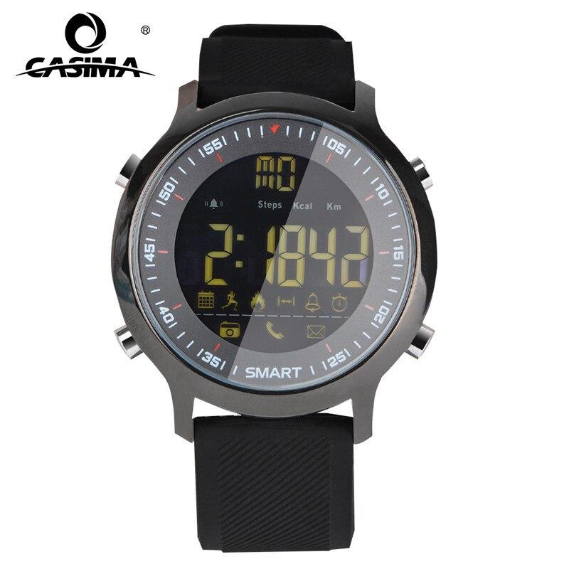 CASIMA Luxury Brand Mens Sports Watches Waterproof 50m Digital Smart Watch Men Fashion Casual Electronics Wristwatches EX18