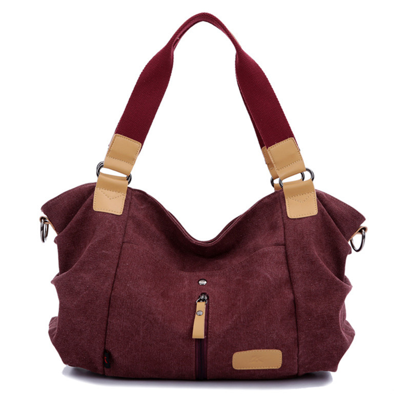 2017 Fashion Woman Canvas Bags Casual Shoulder Bag Famous Brand Female Messenger Bags Ladies Crossbody Bag Bolsos Mujer Tote