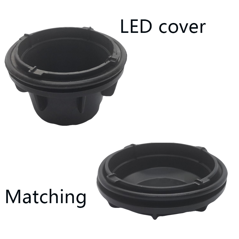 Image 4 - 1 piece Headlamp waterproof cover Dust cap Back cover of PVC HID xenon lamp LED bulb extended dust cover for trax-in Car Light Accessories from Automobiles & Motorcycles