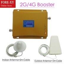 Cdma 850 mhz DCS 1800 Mhz Репитер двухдиапазонный усилитель сигнала Мобильный телефон CDMA репитер 4G усилитель сигнала