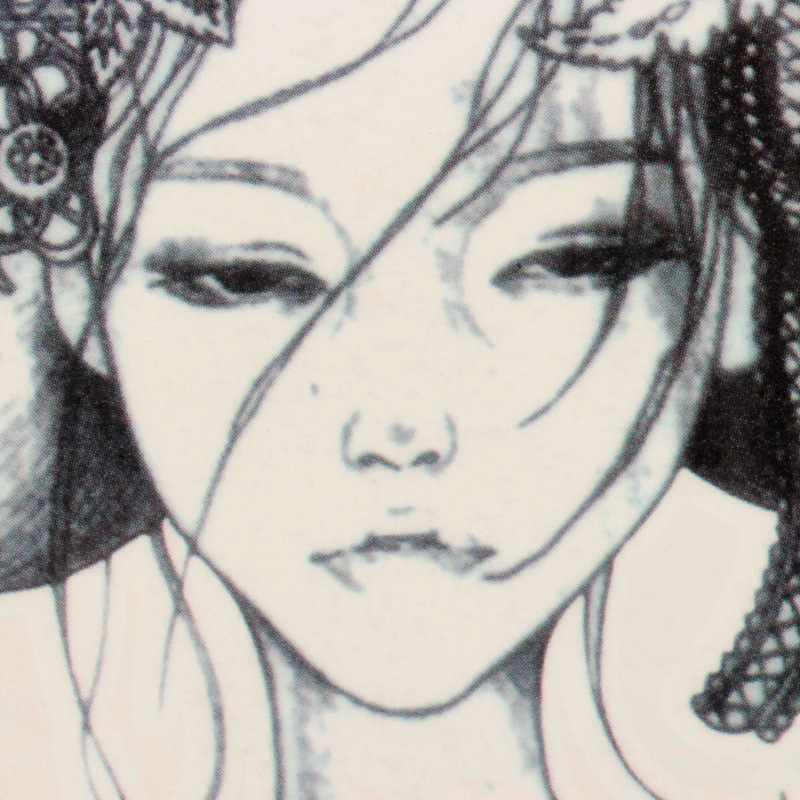 1pc New Design Japan Geisha Girl Tattoo Summer Style Tattoo Sticker Sexy Body Arm Sleeve Fake Waterproof Tattoo Lady