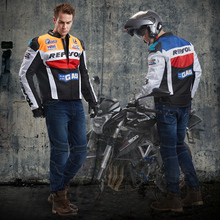 Men's M 3XL 4XL Moto Jeans Ktm Dirt Bike Off-road Riding Blue Trousers Pantalon Motocross Equipment Motorcycle Pants