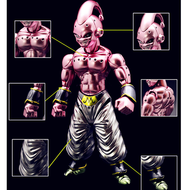 Colaring Of Metals Last BOSS Majin Buu Final Form Dragon Ball Z Assembled Model Action Figure Collection Model Toy G1536Colaring Of Metals Last BOSS Majin Buu Final Form Dragon Ball Z Assembled Model Action Figure Collection Model Toy G1536