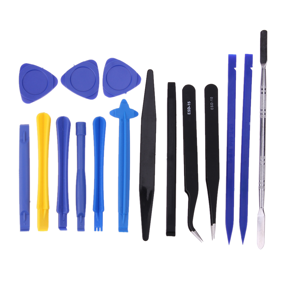 16pcs/set Professional Repair Tool Universal Mobile Phone PC Laptop Opener Pry DIY Tool Kit Portable High Precision Hand Tools