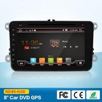 8 дюймов 2 г + 16 г android 7,1 dvd gps навигация для skoda Фольксваген amarok bora caddy CC EOS jetta Поло gps dvd