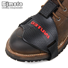 BJMOTO Motorcycle Shoes Protective Gear Shifter Shoe Boots Protector Sock Boot Cover Shift Guards