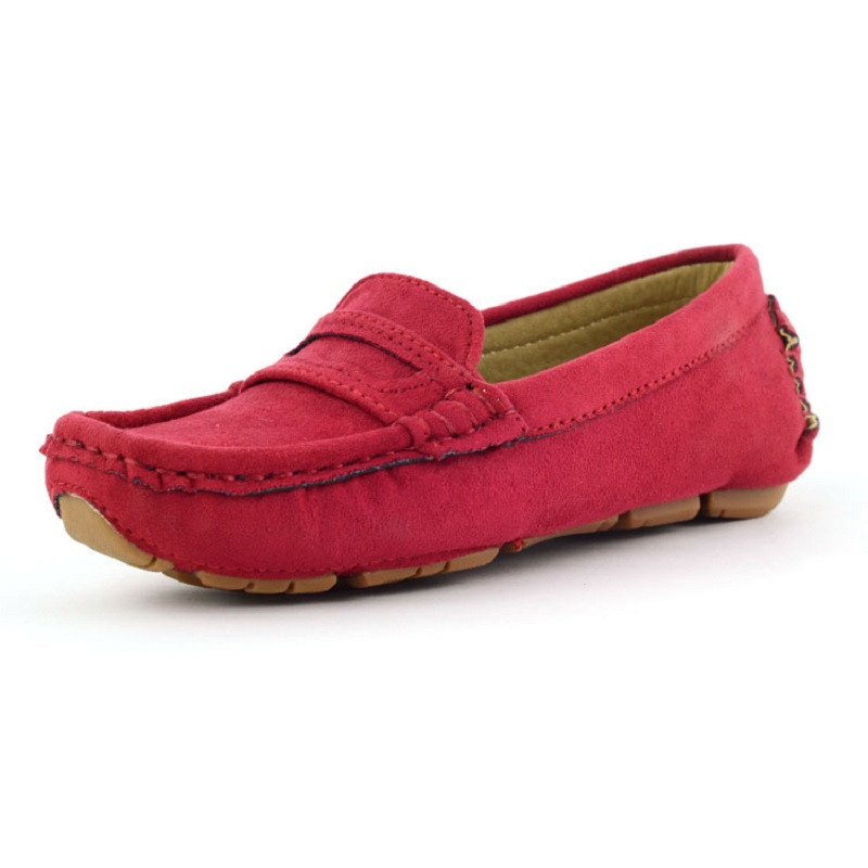 Children Shoes Flat Loafers Shoes Boy Girl Kids Slip on Shallow Casual Shoes Non-slip Sneakers for Little Kid & Teenagers girl and boy loafers shoes sneakers slip on girls winter kid casual boys shoe black breathable children flats sporting shoes
