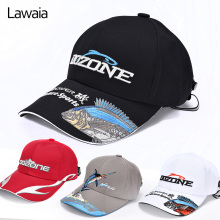 Lawaia Fishing Hat Outdoor Fishing Cap Men And Women Sun Fishing Visor Breathable Sun Hats  Caps Road Asia Fish Gear  Fisher Hat