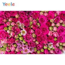 Yeele Photography Backdrops Bud Flowers Girl Portrait Wedding Wall Personalized Photographic Backgrounds cloth For Photo Studio недорого