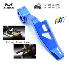 CNC Aluminum Motorcycle Parking Brake Lever for yamaha T-MAX 500 TMAX TMAX500 2008-2011 530 TMAX530 2012-2016