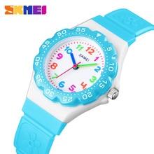 лучшая цена SKMEI Kids Watch Fashion Casual 50M Waterproof Quartz Watches Jelly Children Clock Boy Hours Girls Student Watch 1483