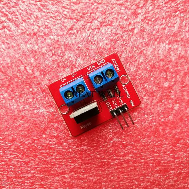 Módulo de controlador IRF520 MOS de botón Mosfet superior de 0-24 V de 5 piezas para brazo de MCU