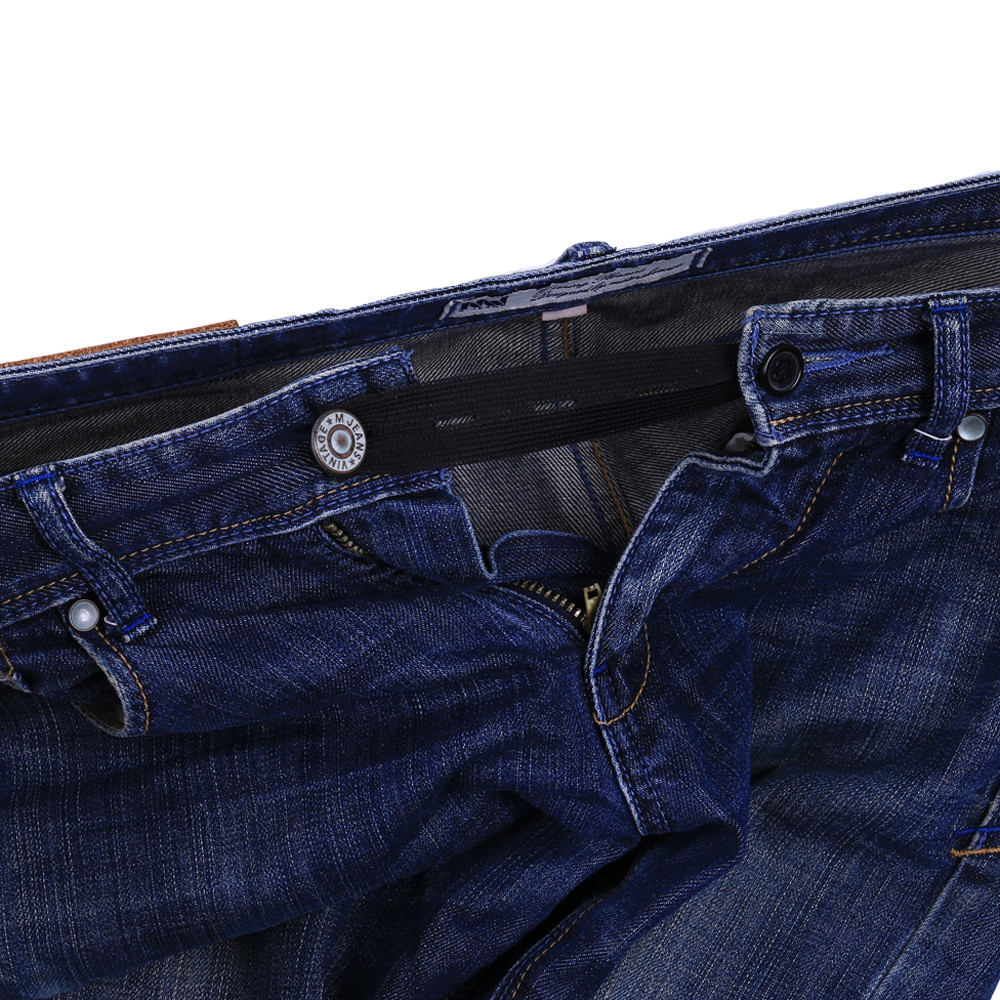 8 Pack Elastic Waist Extender Strong Adjustable Pants Jeans Dress Button