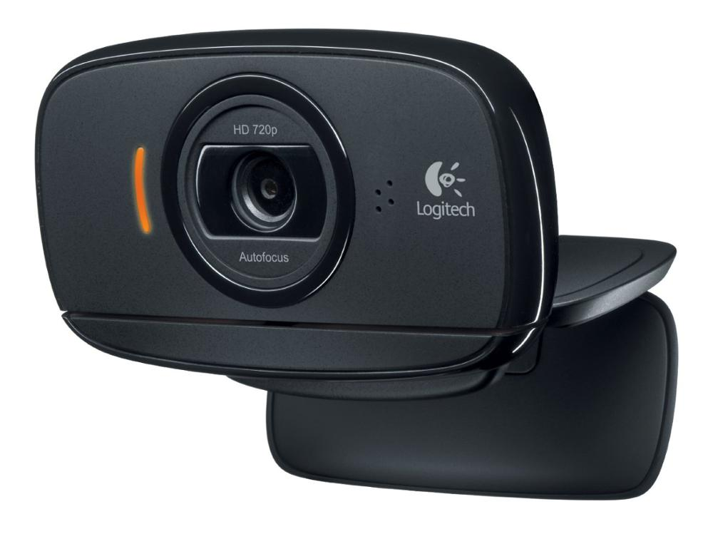 Free shipping For Logitech C525 HD Video Webcam with Autofocus 8MP Pics and Built-in Microphone hd camera digital camera 100% genuine 100% logitech webcam c930e carl zeiss hd webcam ddp asos with retail package