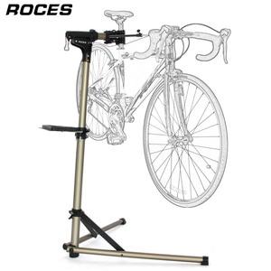 Image 1 - Support de réparation de vélo professionnel et pliable en alliage daluminium, support de travail réglable pour mécaniciens à domicile et entretien