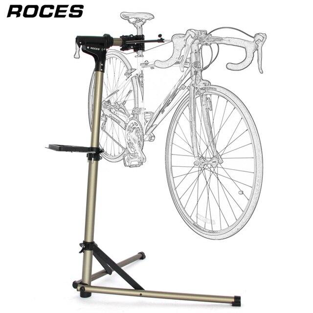 Support de réparation de vélo professionnel et pliable en alliage daluminium, support de travail réglable pour mécaniciens à domicile et entretien